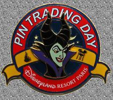 Maleficent (Sleeping Beauty) Pin Trading Day Pin 2005 - DLP Disney Pin LE 800