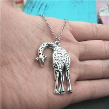 New Giraffe silver Necklace pendants fashion jewelry accessory,creative gifts
