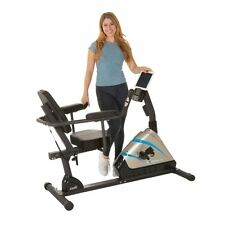 Exerpeutic 2000 High Capacity Programmable Magnetic Recumbent Exercise Bike,