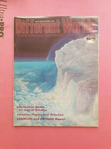 DIFFERENT WORLDS MAGAZINE ISSUE 25 NOV 1982 - CHAOSIUM RPG ROLEPLAYING CTHULHU