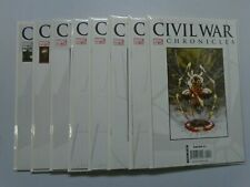 Civil War Chronicles run:#4-11 8.0 VF (2007)