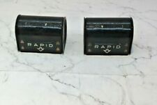 RAPID VINTAGE CAMERA FILM CANISTERS X 2