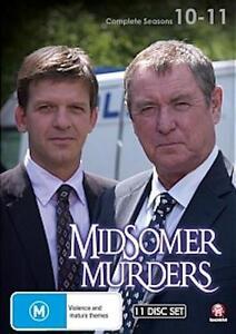 MIDSOMER MURDERS : SEASONS 10 - 11 : NEW DVD