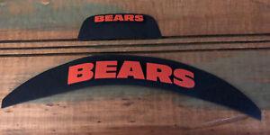 Scrap Yard: Used Chicago Bears Speedflex Football Helmet 3D Bumpers