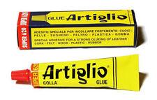 COLLA ARTIGLIO MASTICE 150ML PER CUOIO PELLE SUGHERO FELTRO LEGNO PLASTICA ECC.
