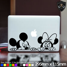 Mickey Minnie Mouse Laptop Sticker Decal Disney Cute Fits Apple Macbook 13 Inch