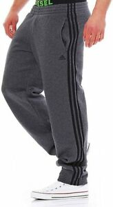 ADIDAS mens track pants jogging bottoms trousers fleeceXS/short XLlong 2XL short
