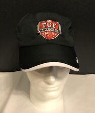 NWT NIKE GOLF TCF Championship DRI-FIT  HAT CAP Adjustable Black