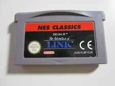 Zelda II 2 The Adventure of Link NES Classics - Nintendo GameBoy Advance SP