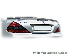 Mercedes Sl R230 Spoiler Roadster Rear Wing Tuning AMG Type a Lip Silver 775