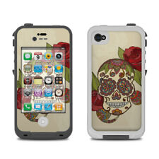 Skin for LifeProof iPhone 4/4S - Sugar Skull by Valentina Ramos - Sticker Decal