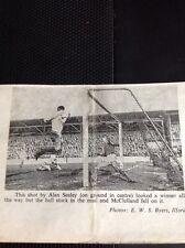 G5-1 Ephemera 1963 Football Picture Arsenal West Ham Alan Sealey