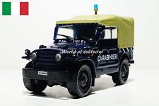 Fiat Campagnola 1959 SUV Police of Italy scale 1 43 DeAgostini Diecast model car