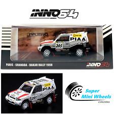 "INNO64 MITSUBISHI PAJERO EVOLUTION #205 ""PIAA"" Paris Granada Dakar Rally 1998"