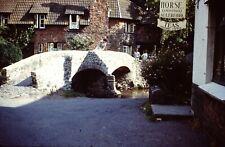 35mm Colour Slide x 3 - Allerford Bridge Somerset - Dated1960