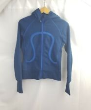 Lululemon size 4  Scuba Hoodie Hooded women's   Jacket Navy Blue