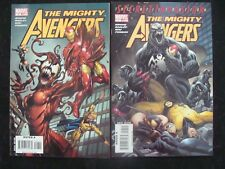 MIGHTY AVENGERS 7-8 Venom Carnage lot Bendis MARK BAGLEY