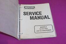 Mercury Outboards 6, 8, 9.9 210 CC Sailpower Service Manual. Part 90-13449.