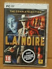 NEW - L.A. NOIRE  - PC DVD - GERMAN VERSION - FREE DELIVERY