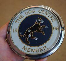 VINTAGE 'THE DOG CENTRE'  Sirius  Dog STAR KENNEL CLUB, CAR BADGE