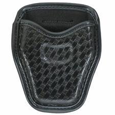 Bianchi Black Basketweave AccuMold Elite 7934 Open Cuff Case 22966