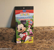 Disney Mickey Mouse Clubhouse Reward Sticker and Activity Book NEW