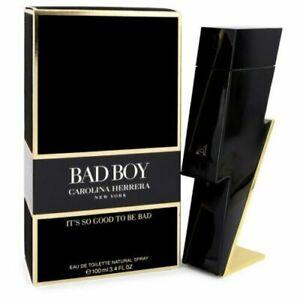 Bad Boy Cologne by Carolina Herrera, 3.4 oz EDT Spray for Men