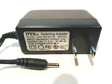 DVE AC Power Adapter Charger DSA-15P-05 US 050125 Switching 5V 2A 5-volt 2.5 amp