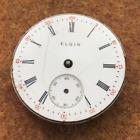 Vintage 1909 Elgin 320 Pocket Watch Movement NR 0s 7 Jewels