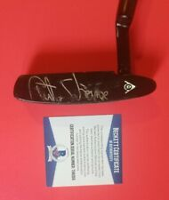 CURTIS STRANGE SIGNED PUTTER CERTIFIED WITH BAS BECKETT COA psa jsa golf club