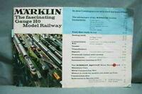 Vintage Marklin Toy Catalog