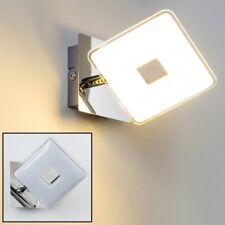Design LED Wandleuchte Wand Strahler Flur Leuchten Wohn Zimmer Lampen Chrom Spot