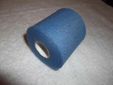 "BLUE ATHLETIC PRE-WRAP   6 rolls   2/34""x20yds.  * FIRST QUALITY *"