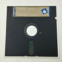 Apple 2 IIc Getting Down to BASIC Floppy Disk 5.25 1984 ProDOS - Lot #06