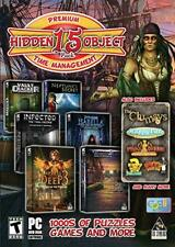 Hidden Object 15 Pack: Premium Time Management PC DVD puzzle find seek games!