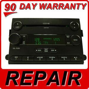 Repair 2004 - 2010 FORD OEM F-150 F-250 F-350 E-150 E-250 E-350 6 CD Service