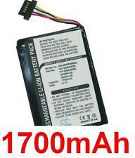Battery 1700mAh type G025A-AB G025M-AB BP-LP1200 For Mitac Mio P550m