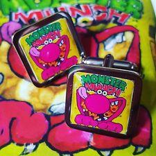 ! Unico! Monster Munch las patatas Fritas Snack Sabor Carne De Vacuno Cromo Gemelos Retro Novedad