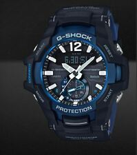 Casio Grb100-1a2 G-shock Watch Blue Smart Access Tough Solar 20 ATM