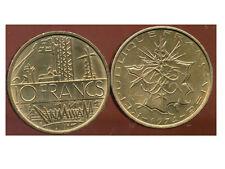 10 francs  mathieu  1974  TRANCHE  B  TTB +  ( bis )