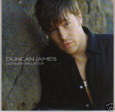 (L445) Duncan James, Sooner or Later - DJ CD