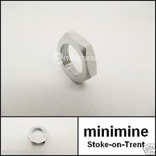 Classic Mini Wiper Wheel Box Six Sided Chrome Nut 37H6316 hex mk1 mk2 cooper 998