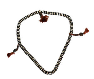 Mala Collar Rosario Cuentas De Planas Tibetano 7mm