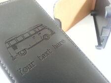 Samsung Galaxy S2 i9100 VW CAMPER T2 black flip phone case bus bay split screen