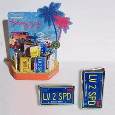 Elektronisches Gas Feuerzeug CALIFORNIA Autokennzeichen USA Nummernschild  NEU