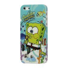 SpongeBob - Custodia Cover Fumetti Protezione Rigida + PELLICOLA per iPhone 5