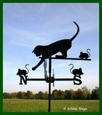 Katze /'Klärchen/' aus Metall 85 cm