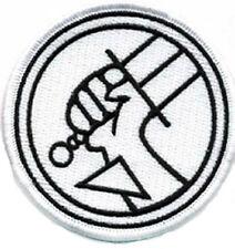 Hellboy Movie Patch - Uniform Aufnäher für Kostüm zum aufbügeln - Weiß