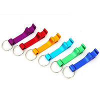 Novelty Metal Key Chain Bottle Opener Silvery Key Chain Ring Bar Tool 'SO