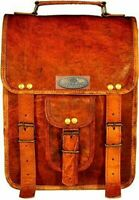 2 Saddlebags GVB Leather All Motorcycle 2 Side Pouch Panniers 2 Saddle Bags Set